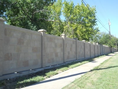 Precast Concrete Fence Wall