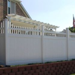 Dallas Vinyl Fence