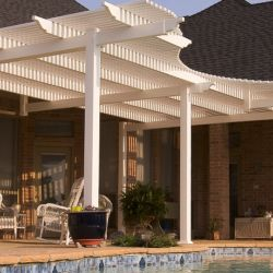 Vinyl Pergola in Dallas Texas