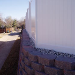 Retaining Wall in Dallas