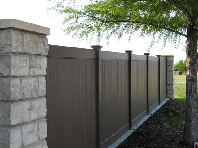Dallas Vinyl Privacy Fence