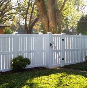 Vinyl Semi Privacy Fence Dallas Texas