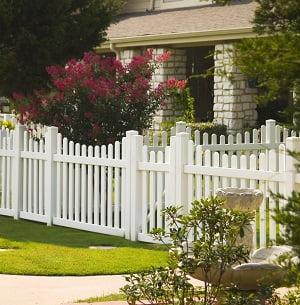 Vinyl Picket Fence Dallas Texas