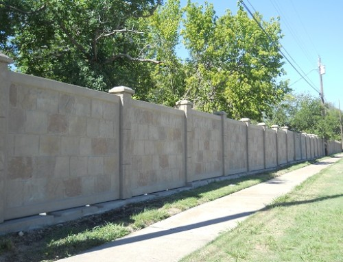 What Is Precast Concrete Fence